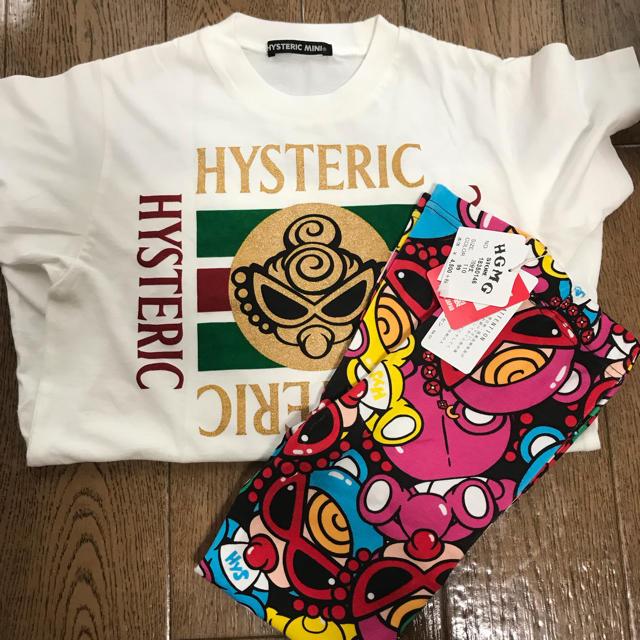 HYSTERIC MINI(ヒステリックミニ)のTシャツ テディレギンス セット キッズ/ベビー/マタニティのキッズ服 男の子用(90cm~)(その他)の商品写真