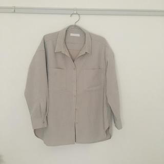 【新品タグ付き】オーバーサイズコーデュロイシャツ