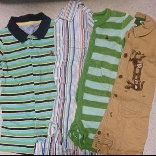 ギャップ(GAP)のGAP 半袖 長袖 ロンパース 60〜70cm 男の子 7枚セット まとめ売り(ロンパース)