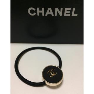 CHANEL - シャネル  ヘアゴム/ブラック