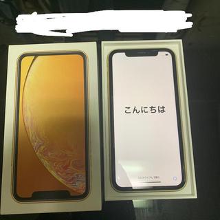 iPhone - iPhonexrイエロー64GBSIMフリー