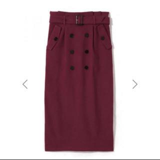 GRL - GRL ベルト付きトレンチタイトスカート
