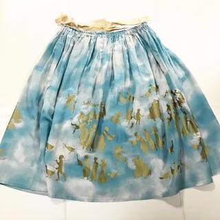 ジェーンマープル(JaneMarple)のゴールデングース ドレススカート  (ひざ丈スカート)