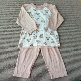 クマさんパジャマ 90