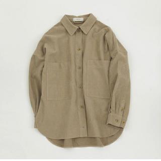 TODAYFUL - 未使用・brushed boyfriend shirt