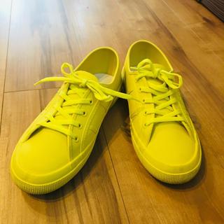 スペルガ(SUPERGA)のスペルガ イエロー レインシューズ(レインブーツ/長靴)