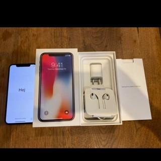 iPhone X 256GB SIMフリー★美品★