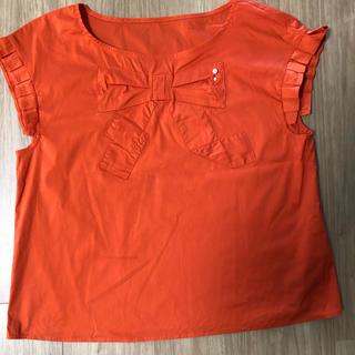 クチュールブローチ(Couture Brooch)のりぼん シャツ トップス【クチュール ブローチ】(シャツ/ブラウス(半袖/袖なし))
