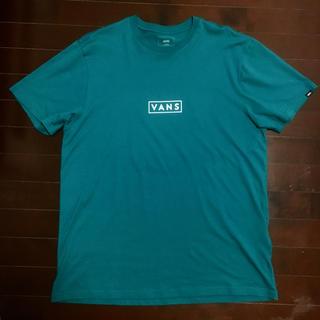 ヴァンズ(VANS)のVANS EASY BOX Tシャツ ターコイズ XL キムタク(Tシャツ/カットソー(半袖/袖なし))