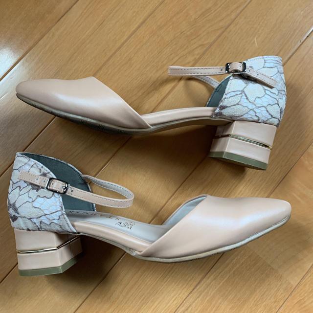 レース パンプス レディースの靴/シューズ(ハイヒール/パンプス)の商品写真