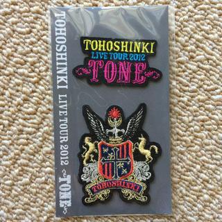 トウホウシンキ(東方神起)の東方神起 ワッペン2個セット  2012年  TONE(ミュージック)