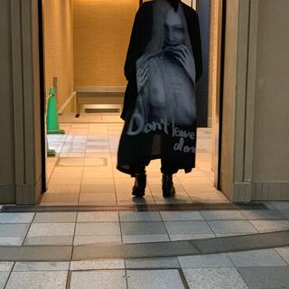 Yohji Yamamoto - ヨウジオム18ss 内田すずめ 拒食と自爆シルク