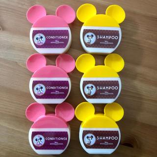ディズニー(Disney)のミッキー シャンプー&コンディショナー 6個(シャンプー)
