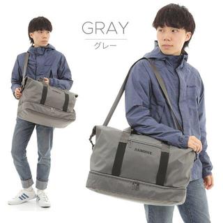 旅行バッグ ボストンバッグ スポーツバッグ 大容量 グレー