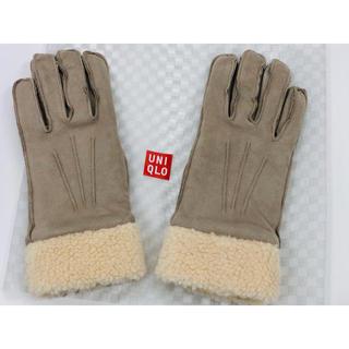 ユニクロ(UNIQLO)のUNIQLO ムートンタッチグローブ(手袋)
