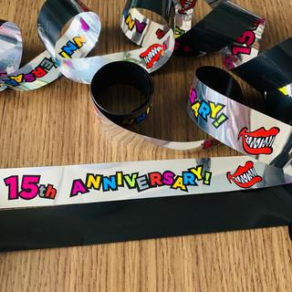 関ジャニ∞ 十五祭 銀テープ 黒