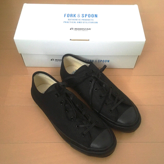 ドアーズ(DOORS / URBAN RESEARCH)のFORK&SPOON×MOONSTAR スニーカー 24.5(スニーカー)