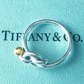ティファニー(Tiffany & Co.)の☆新品☆未使用☆Tiffany&Co. ティファニー ラブノットリング11号(リング(指輪))
