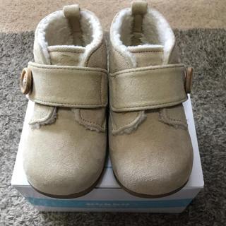 familiar - familiar ファミリア  ベビー用ボアブーツ 靴