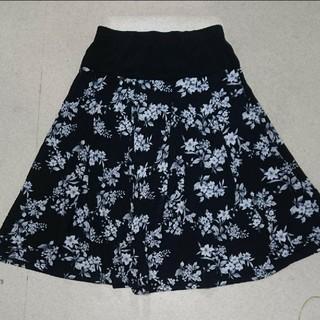 シマムラ(しまむら)の腹巻き花柄フレアスカート(ひざ丈スカート)