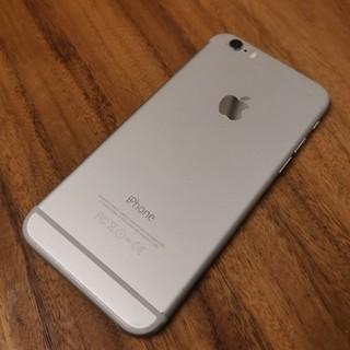 iPhone - 『液晶綺麗』iPhone6 64GB silver docomo『87%』
