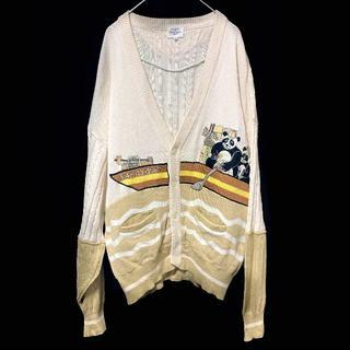 カステルバジャック(CASTELBAJAC)のカステルバジャックCASTELBAJAC カーディガン メンズ スポーツ 紳士服(カーディガン)