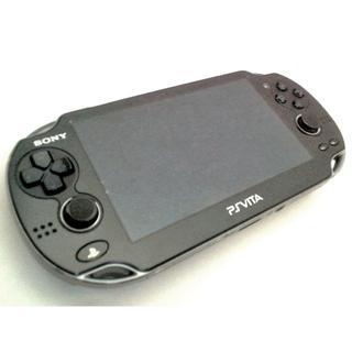 PlayStation Vita - 【送料無料】PlayStation®Vita クリスタル・ブラック FW3.63