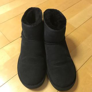 アグ(UGG)のUGGクラシックミニ ブラック(ブーツ)