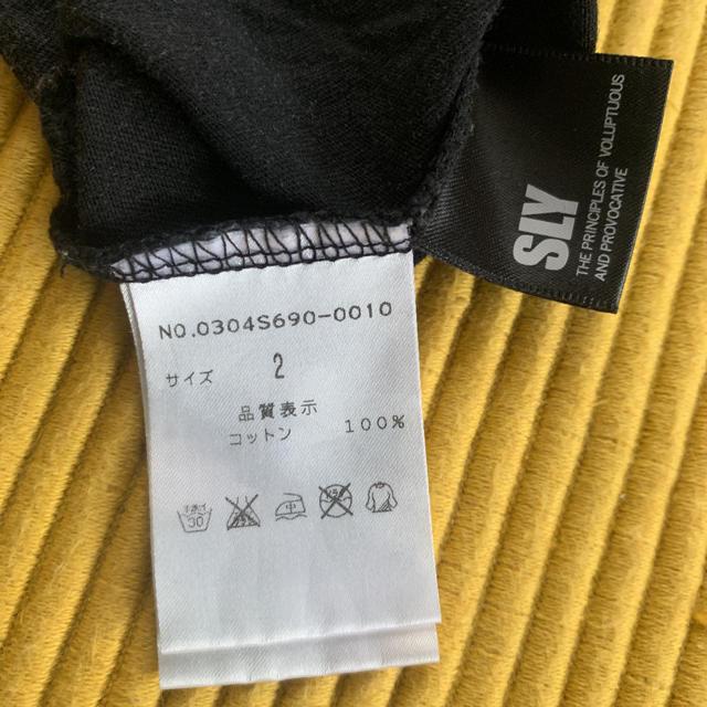 SLY(スライ)のsly プリント ショートティシャツ レディースのトップス(Tシャツ(半袖/袖なし))の商品写真