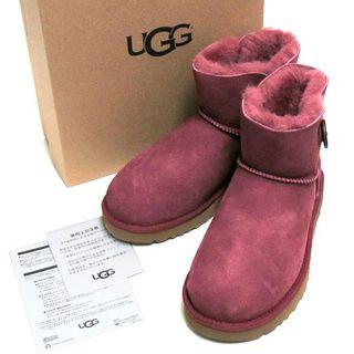 アグ(UGG)の新品UGG MINI BAILEY BUTTON II ムートン ショーツブーツ(ブーツ)