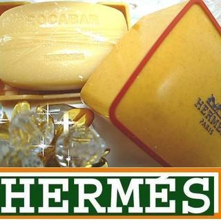 エルメス(Hermes)の★入手困難★激レア★r-4 エルメス ロカバール ソープ 石鹸 25g ケース付(ユニセックス)