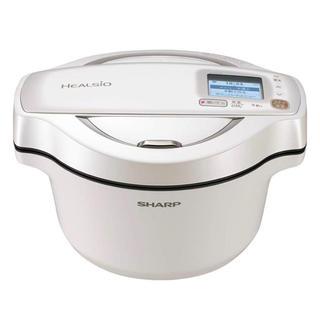 SHARP - シャープ ヘルシオ ホットクック 1.6L 無水鍋ホワイト KN-HW16E-W