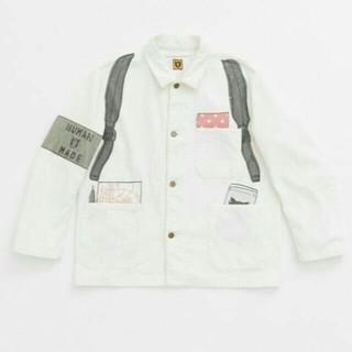 A BATHING APE - HUMAN MADE 19ss ホワイト シャツ Mサイズ