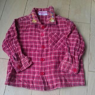 ミキハウス(mikihouse)のミキハウス長袖シャツ サイズ80(シャツ/カットソー)
