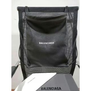 バレンシアガ(Balenciaga)のバレンシアガ ロゴ レザー ナップサック(リュック/バックパック)