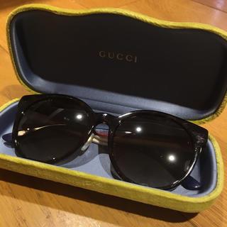 Gucci - グッチ スリーカラー トリコロール サングラス 箱付 定価41.040円