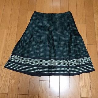 ニジュウサンク(23区)の23区 ボックスプリーツスカート(ひざ丈スカート)