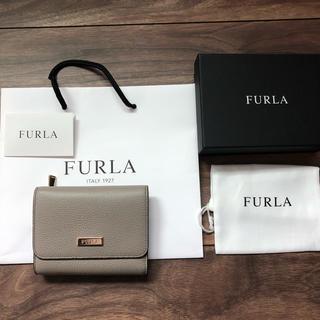 Furla - フルラ FURLA グレー三つ折り財布
