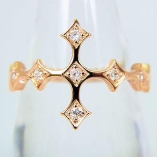 K18 ダイヤモンド リング 11号 [f69-6](リング(指輪))