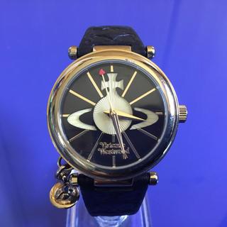 ヴィヴィアンウエストウッド(Vivienne Westwood)の★即日発送可能!★ 人気の文字盤黒 ヴィヴィアンウエストウッド 腕時計(腕時計)