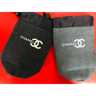 CHANEL - デニムペットボトルケースノベルティー