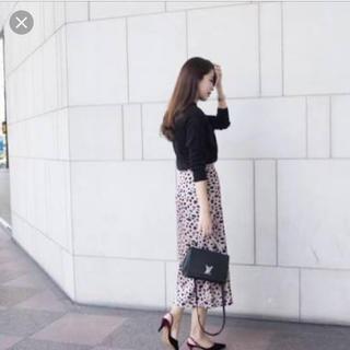 ENEU レオパードスカート