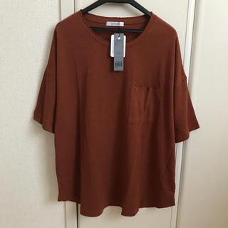 ジーナシス(JEANASIS)の新品 ジーナシス リネンポケTEE(Tシャツ(半袖/袖なし))