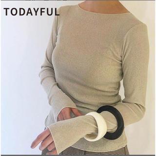 トゥデイフル(TODAYFUL)のTODAYFUL トゥデイフル Drytouch Long T-Shirts (Tシャツ(長袖/七分))