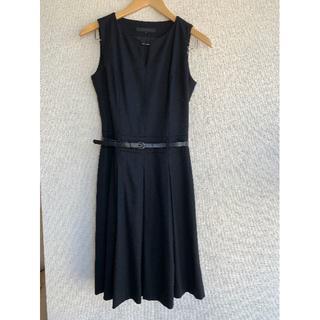 ANAYI - アナイ ジャンパースカート 黒