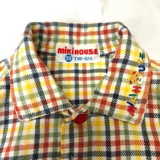 ミキハウス(mikihouse)のミキハウス チェックシャツ 90(ブラウス)