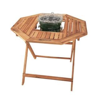 ガーデンテーブル 折りたたみテーブル 木製 8角形