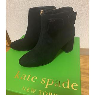 ケイトスペードニューヨーク(kate spade new york)のケイトスペード  リボンショートブーツ(ブーツ)