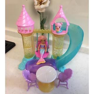 バービー(Barbie)の美品!バービー チェルシーのマーメイドプレイセット(キャラクターグッズ)