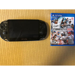 PlayStation Vita - プレステvita プロスピ2019(新品) メモリーカード充電器付き